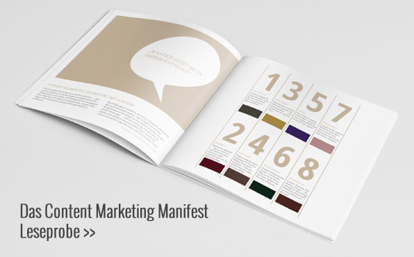 Leseprobe Content Marketing Manifest